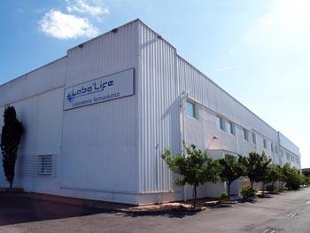 Fachada Laboratorio Labo'Life en Consell